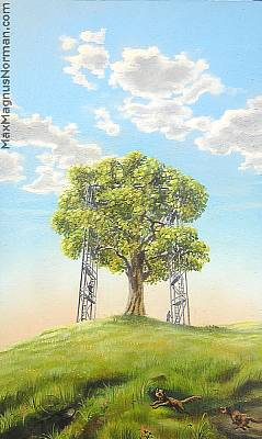 Click to enlarge the picture / the image / the painting THE WHITE MAN the picture / the image / the painting CARE TREE