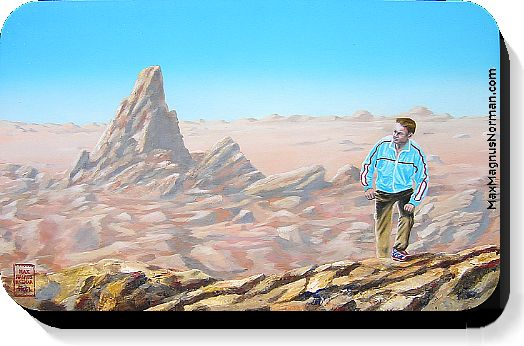Click to enlarge the picture / the image / the painting DESERT WALK