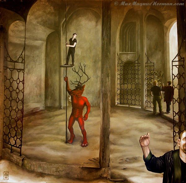 Click to enlarge the picture / the image / the painting The Rope Trick