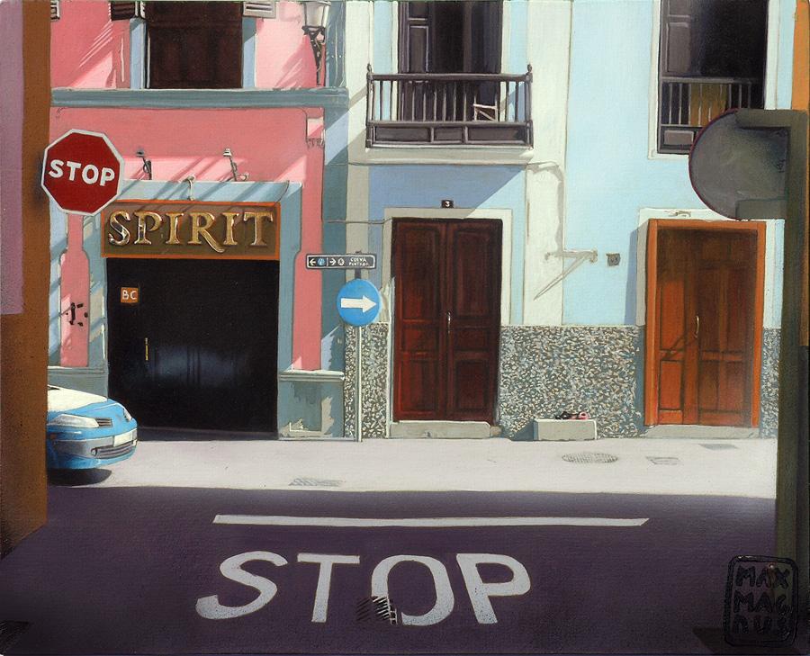 Stop, Spirit, stop!