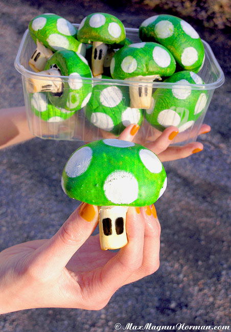 What's new everyone? 1-up-mushrooms
